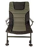 Карповое кресло для рыбалки природы пикника Ranger Wide Carp SL-105 мегкое до 160 кг нагрузки + чехол, фото 3