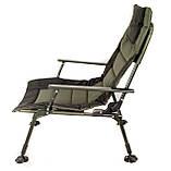 Карповое кресло для рыбалки природы пикника Ranger Wide Carp SL-105 мегкое до 160 кг нагрузки + чехол, фото 5