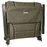 Карповое кресло для рыбалки природы пикника Ranger Wide Carp SL-105 мегкое до 160 кг нагрузки + чехол, фото 8