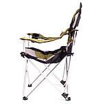 Крісло — шезлонг складне для дачі природи пікніка Ranger FC 750-052 до 140 кг навантаження Green, фото 3