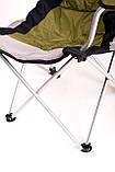 Кресло — шезлонг складное для дачи природы пикника Ranger FC 750-052 до 140 кг нагрузки  Green, фото 10