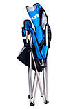 Кресло складное для дачи природы пикника Ranger SL 751 до 120 кг нагрузки + чехол синее, фото 4