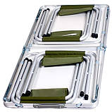 Комплект меблів складаний для дачі природи пікніка Ranger ST 402 стіл (3 положення) + 4 стільця + чохол, фото 4
