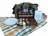 Набор посуды для пикника Ranger Pic Rest НВ 4-605 на 4 персоны с термоотделом 18 литров, фото 7
