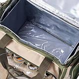 Набор посуды для пикник Rhamper НВ 4-533 пищевая сталь на 4 персоны с термоотделом на 25 литров, фото 2