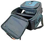 Рюкзак рыбацкий для снастей Ranger bag 1 2 отделения + 4 контейнера, фото 9