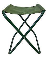 Стул складной для рыбалки природы пикника Ranger Oril до 80 кг нагрузки зеленый