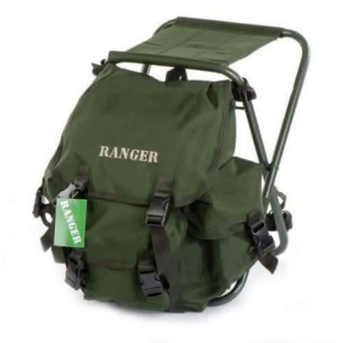 Стул-рюкзак  складной для рыбалки природы пикника Ranger FS 93112 RBagPlus до 120 кг нагрузки