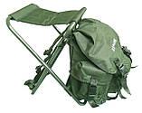Стул-рюкзак  складной для рыбалки природы пикника Ranger FS 93112 RBagPlus до 120 кг нагрузки, фото 2