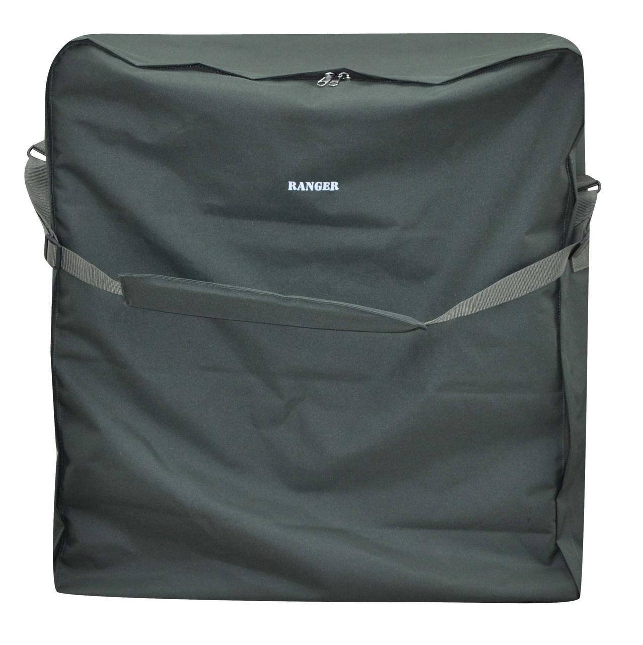 Чехол для карповой раскладушки Ranger  92х86х22 см зеленый