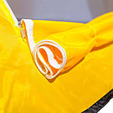 Всесезонная палатка-автомат для рыбалки  туристическая Ranger winter-5 двухместная желто/белый, фото 5