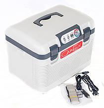 Автомобильный холодильник CarEx RI-19-4DA с функцией разогрева 19 литров объема