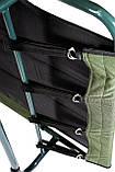 Раскладушка карповая для рыбалки  Ranger Rest до 120 кг нагрузки + подушка + чехол зеленая, фото 7