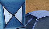 Палатка туристична тримісна KingCamp Monodome 3 blue, фото 2
