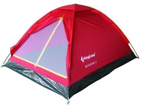 Двомісна Палатка туристична KingCamp Monodome 2 red