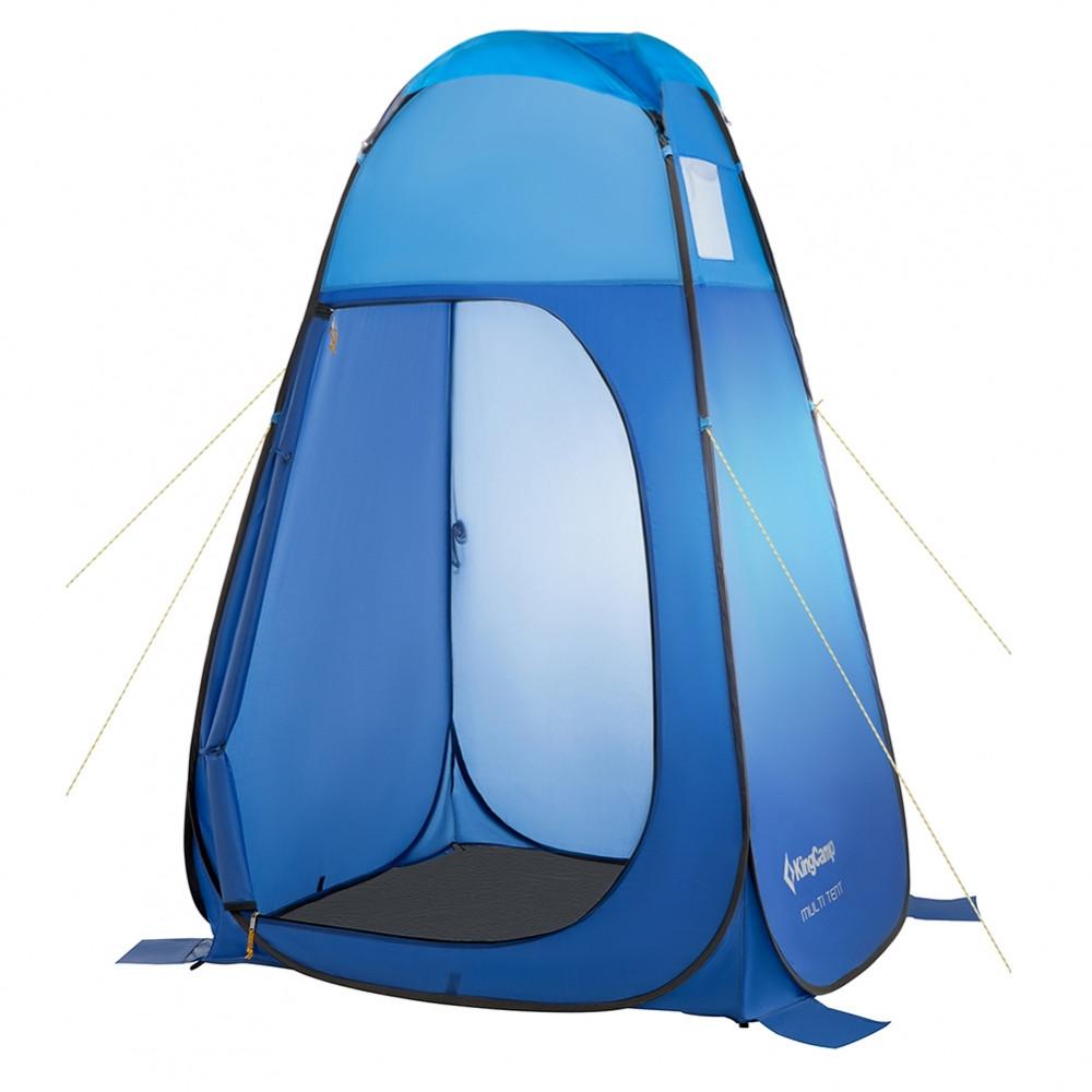 Мульти-тент туристический KingCamp Multi Тent (душ,туалет походный) blue