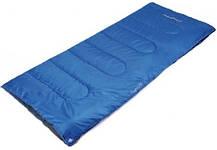 Спальный мешок-одеяло туристический KingCamp Oxygen (dark blue,левая)