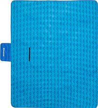Большой коврик для пикника пляжа отдыха KingCamp Picnik Blankett 200 x 178 см  blue