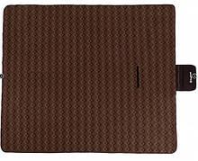Большой коврик для пикника пляжа отдыха KingCamp Picnik Blankett  200 x 178см коричневый