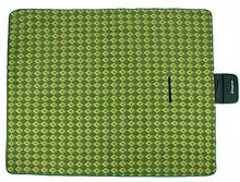 Большой коврик для пикника пляжа отдыха KingCamp Picnik Blankett 200 x 178 см зеленый