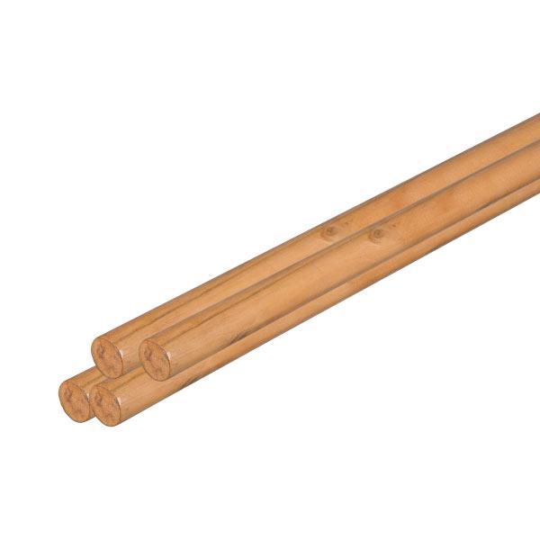 Колышек деревянный, лакированный для подпорки растений, 2,8 х 105 см, NEW, TYP28105 Польша