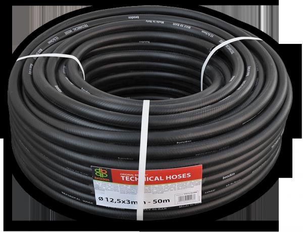 Шланг технический  BRADAS BLACK 12,5 х 3мм, 17 bar, TH12,5*3BK