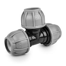 Тройник для труб PE, 32 / 25 / 32 мм, PN10, DSRA10T3225