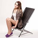 """Кресло раскладное для дачи природы пикника """"Качалка"""" до 110 кг нагрузки, фото 3"""