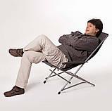 """Кресло раскладное для дачи природы пикника """"Качалка"""" до 110 кг нагрузки, фото 4"""