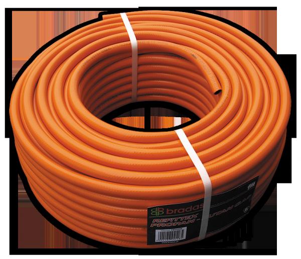 Шланг для газа пропан-бутан 9 х 3мм, PB9325 (сертифицированный)