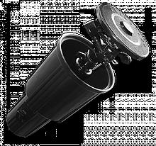 Ороситель выдвижной, пульсирующий 0-360°, DSZW-2100