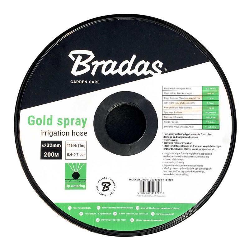 Лента оросительная для капельного полива GOLD SPRAY 25 мм, DSTGS253020-048-200 Польша