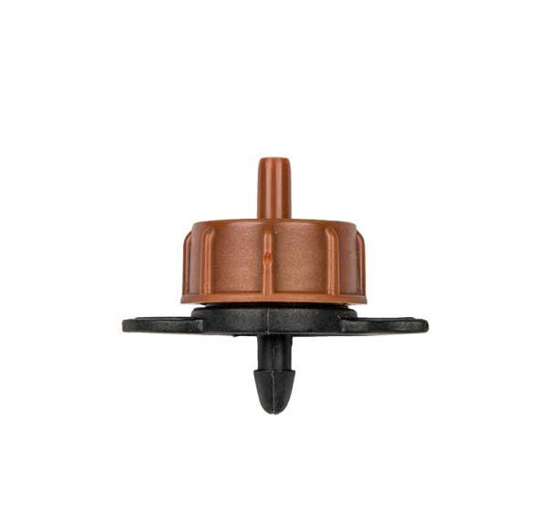 Капельница с турбулентным потоком для систем капельного полива 8 л/ч, выход 4 мм, DSE-TOD08