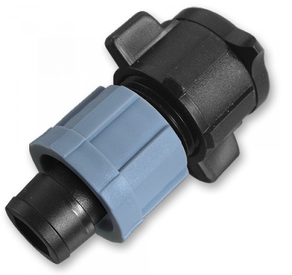 Старт-Коннектор на плоский шланг, короткий, DSTA11-02L
