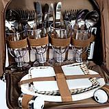 Набор посуды для пикника Ranger  Yodo на 4 персоны + термоотдел 11 литров, фото 2