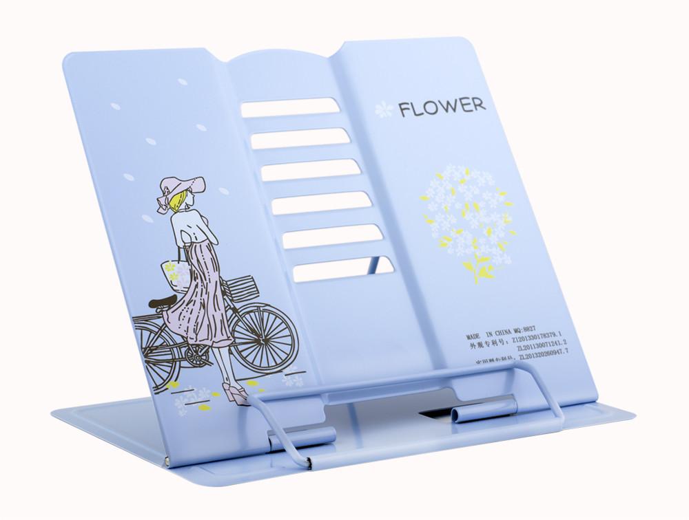 "Подставка для книг металлическая ""Романтика""  21*19*16.5 см  MQ8827"