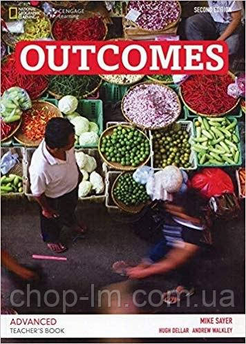 Книга для учителя Outcomes (2nd Edition) C1 Advanced Teacher's Book + Class Audio CD / NGL