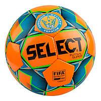Мяч для футзала SELECT Futsal Super №4 (orange-blue) #F/B