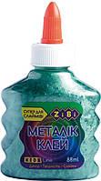 Клей ПВА для слаймів 88 мл зелений металік ZIBI