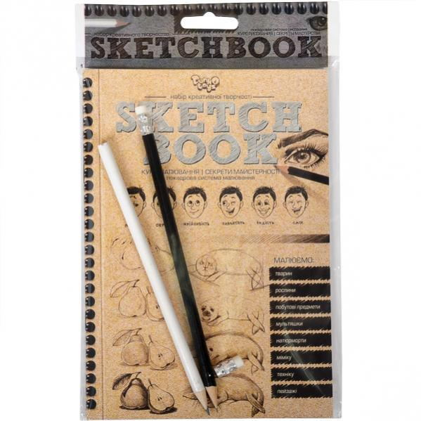 Книга - курс малювання Sketchbook, укр.мова SB-01-02