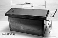 Коптильня з гідрозатворів 2 рівня і піддоном 2 мм
