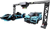 Конструктор Лего 76898 LEGO Speed Champions Formula E Panasonic Jaguar Racing Gen2 car and Jaguar I-PACE eTROP