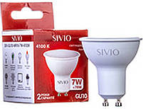 Светодиодная лампа SIV-MR16-7W-4100K-GU10  220V, фото 2