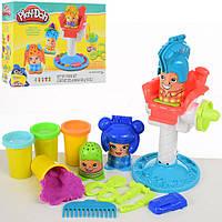 Детский игровой набор пластилин Play-Doh Сумасшедшие прически с аксессуарами
