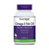 Омега-3 Omega-3 Fish Oil Heart Heath 1200 mg (60 softgels, lemon)