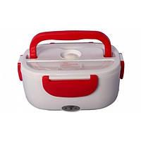 Электрический термо ланч-бокс The Electric Lunch Box контейнер для еды с подогревом Red
