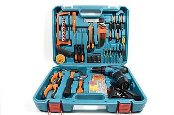 Аккумуляторный шуруповерт MAKITA DF330DWEи набор инструментов в кейсе ( Шуруповерт Макита)