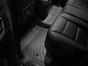 Ковры резиновые WeatherTech Porsche Cayenne 2003-2010  задний черный