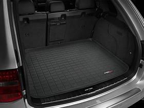 Ковры резиновые WeatherTech Porsche Cayenne 2003-2010  в багажник черный