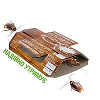 Мощная Клеевая ловушка PRILIPALO для тараканов, с приманкой. (Прилипало, Клейова пастка)